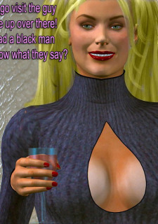 The Vodoo Doll- 3D Interracial image 10