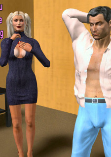 The Vodoo Doll- 3D Interracial image 15