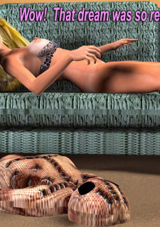 The Vodoo Doll- 3D Interracial image 32