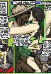 The Wreck- illustrated interracial image 06