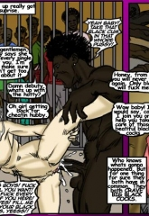 The Wreck- illustrated interracial image 11