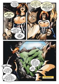 Thunder Gal- The Call- 7Superheroines porn comics 8 muses