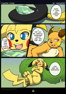 [Kuroodod] Thunder Stone (Pokemon) image 06