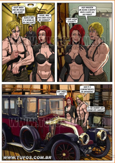 Titanic- Hollywood em Quadrinhos image 6