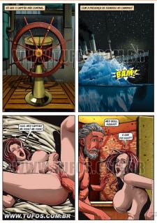 Titanic- Hollywood em Quadrinhos image 11