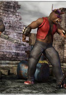 TMNT Ruins- Mongo Bongo image 2
