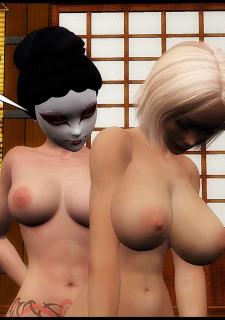 Training of a Geisha-Poochy Comix image 21