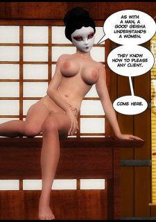 Training of a Geisha-Poochy Comix image 30