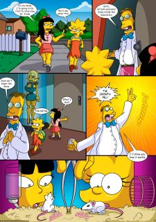 Treehouse of Horror 3- Simpsons (Kogeikun) image 4