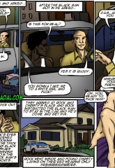 Tricked- illustrated interracial image 04