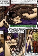 Tricked- illustrated interracial image 09