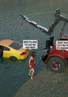 A Truck Driver fucks the rich bitch image 08