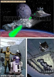 Tufos- Hollywood em Quadrinhos 3- Star Wars image 2