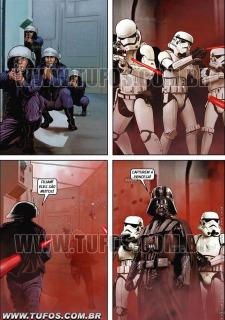 Tufos- Hollywood em Quadrinhos 3- Star Wars image 3