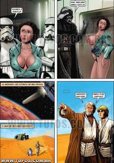 Tufos- Hollywood em Quadrinhos 3- Star Wars image 5