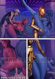 Tufos- Hollywood em Quadrinhos 3- Star Wars image 10