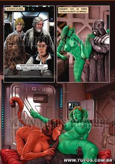 Tufos- Hollywood em Quadrinhos 3- Star Wars image 13