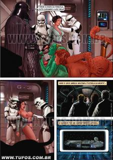 Tufos- Hollywood em Quadrinhos 3- Star Wars image 14