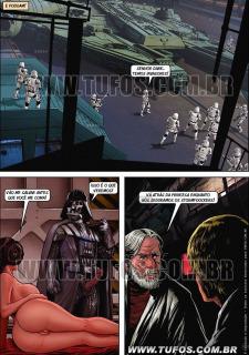 Tufos- Hollywood em Quadrinhos 3- Star Wars image 15