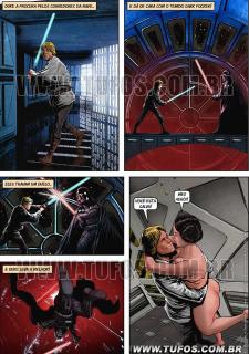 Tufos- Hollywood em Quadrinhos 3- Star Wars image 16