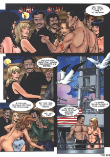 Turnabout in the Caribbean porn comics 8 muses