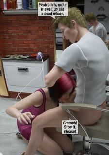 Two boys rape a woman at haircut- 3DStories image 13