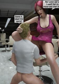 Two boys rape a woman at haircut- 3DStories image 20