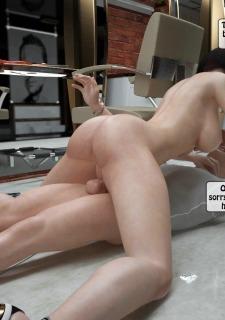 Two boys rape a woman at haircut- 3DStories image 27
