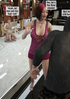 Two boys rape a woman at haircut- 3DStories image 36