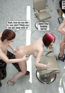 Two boys rape a woman at haircut- 3DStories image 41