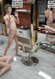Two boys rape a woman at haircut- 3DStories image 54