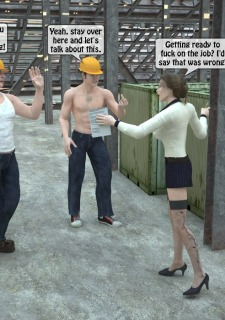 Two workers rape the chief woman- 3DStories image 5