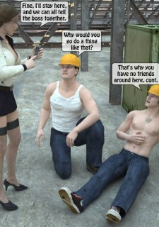Two workers rape the chief woman- 3DStories image 6