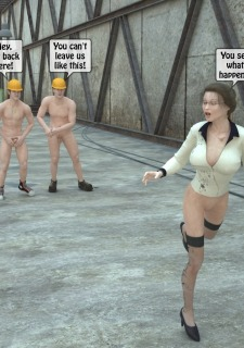 Two workers rape the chief woman- 3DStories image 14