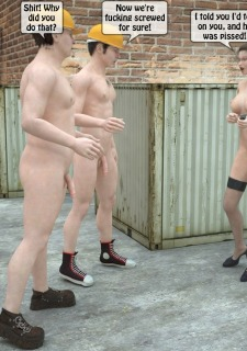 Two workers rape the chief woman- 3DStories image 37