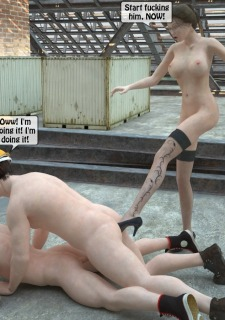 Two workers rape the chief woman- 3DStories image 42