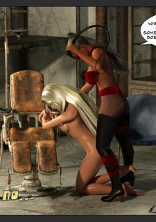 Ultragirl and Futa Panther- Zuleyka image 14