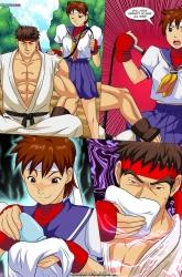 Vega vs Chun Li image 02