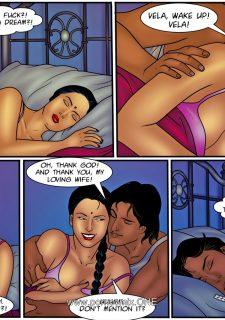 Velamma Dreams 11- Vela Forgets who she is porn comics 8 muses