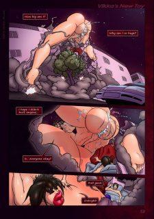 Vikka's New Toy- Tekweapons image 9
