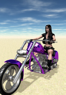 Wasteland 01-The Biker Chick image 02
