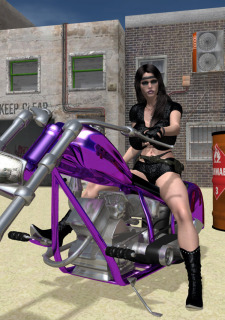Wasteland 01-The Biker Chick image 03