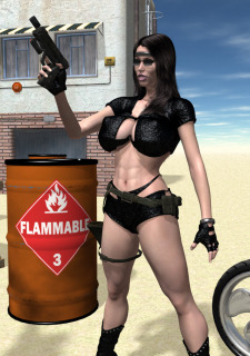 Wasteland 01-The Biker Chick image 09