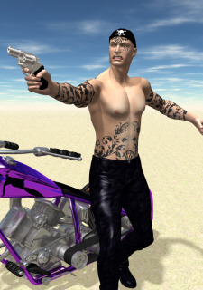 Wasteland 01-The Biker Chick image 11