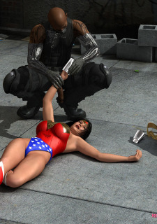 Wonder woman vs Cain- MrBunnyArt image 7