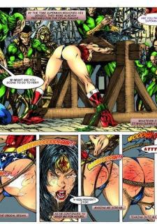 Wonder Woman vs Warlord (Superman) image 02