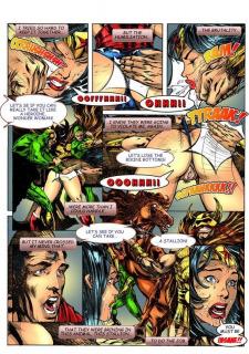 Wonder Woman vs Warlord (Superman) image 15