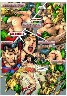 Wonder Woman vs Warlord (Superman) image 21