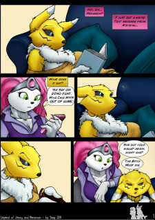 The Legend Of Jenny And Renamon 1 (Yawg) image 03