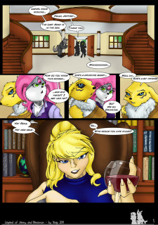 The Legend Of Jenny And Renamon 1 (Yawg) image 04